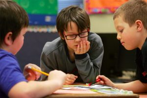 children flourishing thanks to services at school for autism